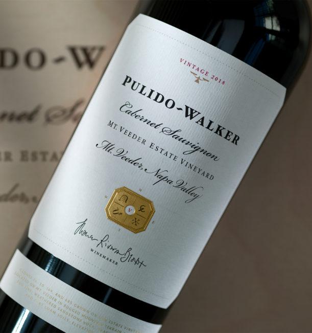 Pulido Walker Mt Veeder Cabernet 2018 bottle